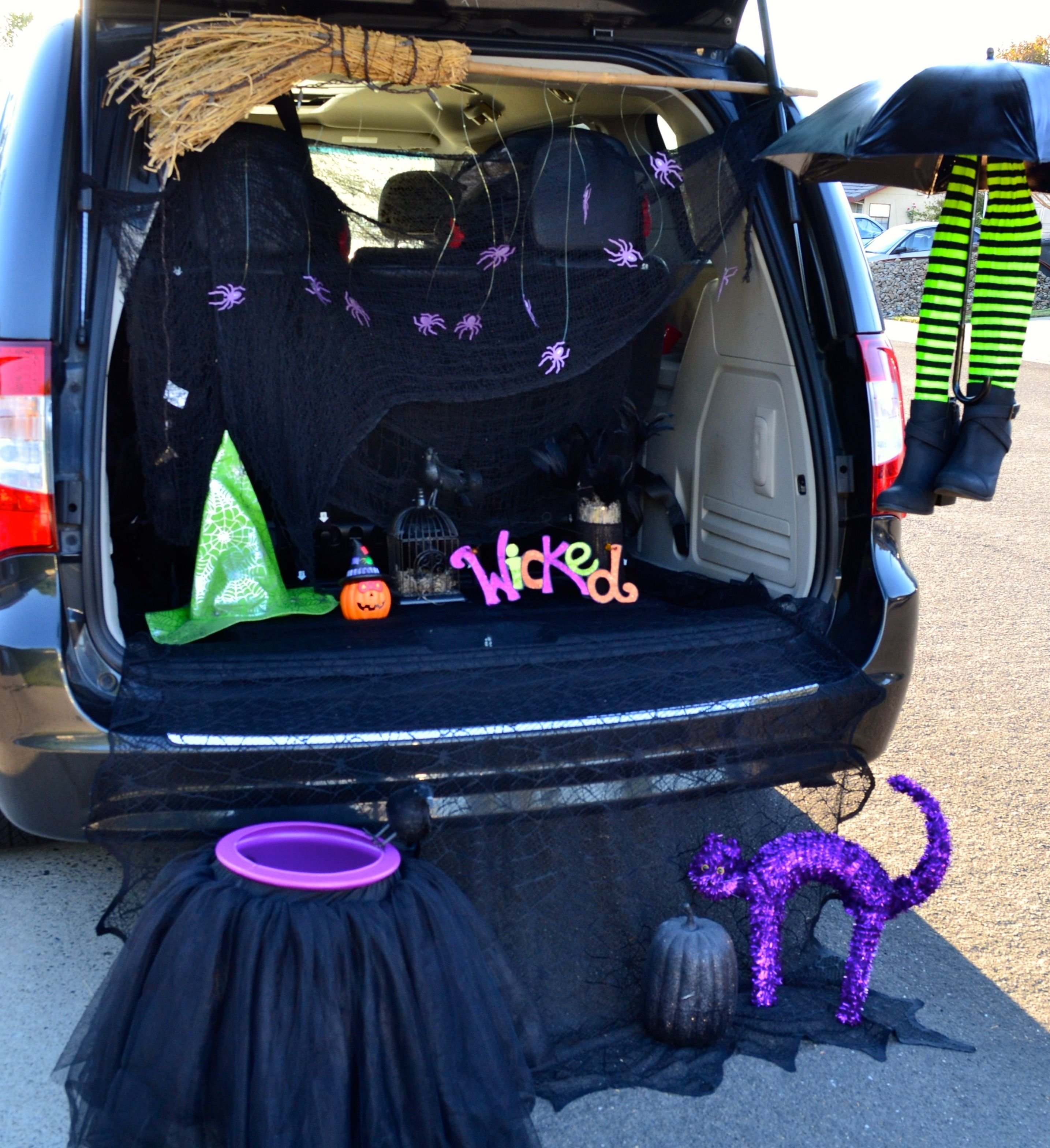 10 Cute Trunk And Treat Ideas For Decorating halloween trunk or treat decorating ideas mforum home design 2020