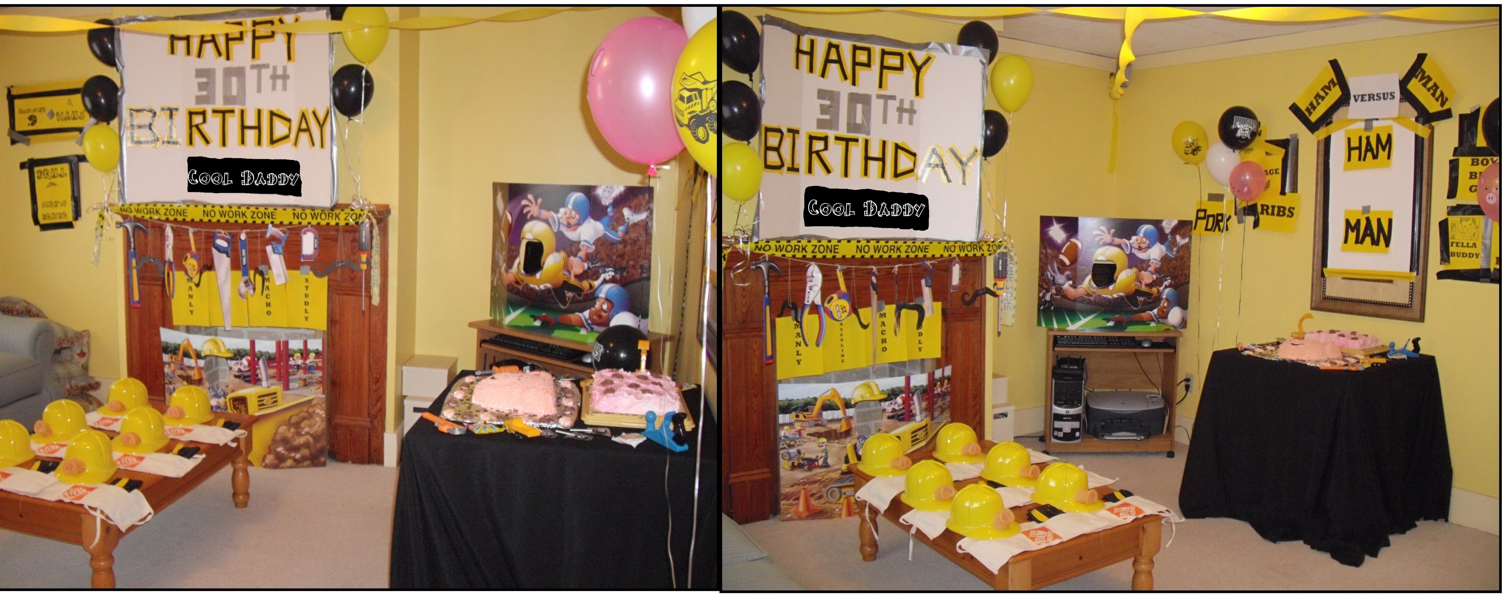 10 Ideal 30 Year Old Birthday Ideas Ham And Man Party Cool Daddys 30th Coolest