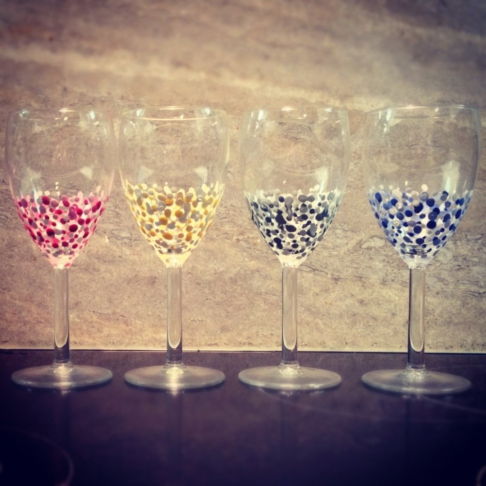 10 Cute Ideas For Painting Wine Glasses hand painted wine glasses 51 diy ideas guide patterns 2021