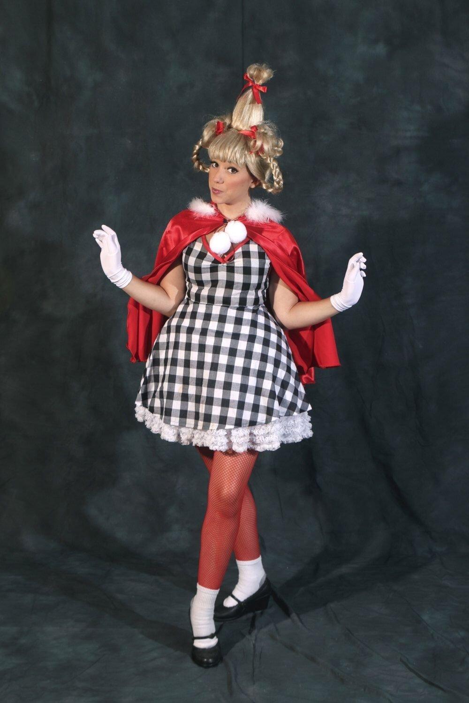 10 Stylish Cindy Lou Who Costume Ideas handmade adult cindy lou who costume how the grinch stole christmas