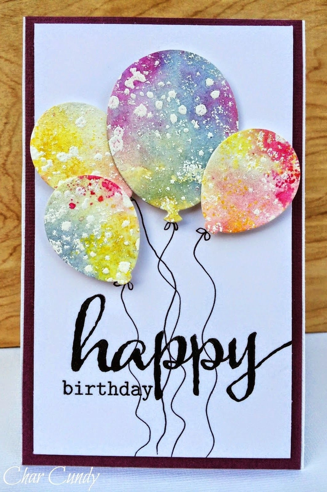 10 Elegant Ideas For A Birthday Card