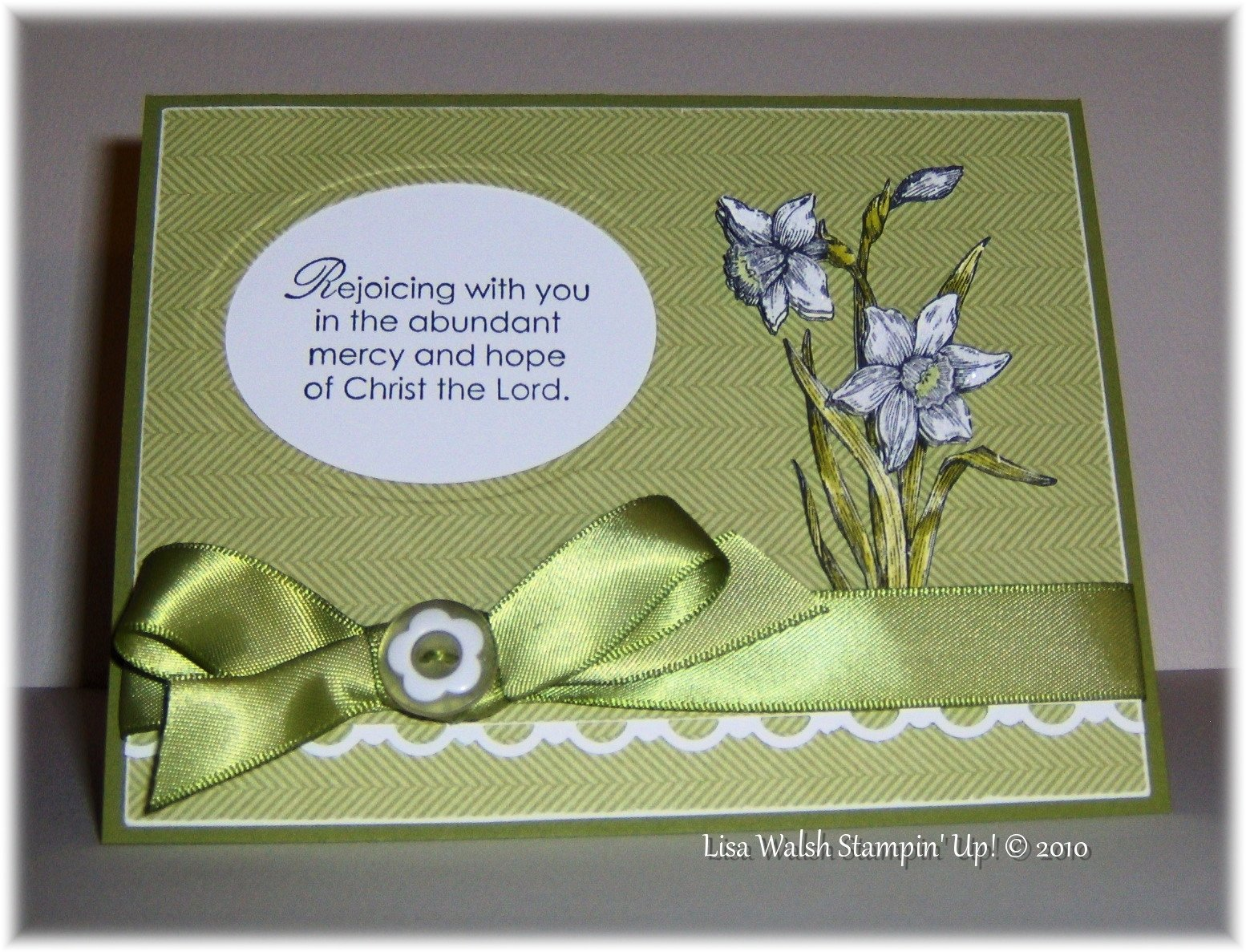 10 Lovable Stampin Up Easter Card Ideas handmade card