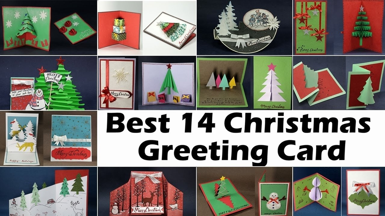 10 Beautiful Best Christmas Card Photo Ideas handmade christmas card ideas 14 diy christmas cards to make for 2020