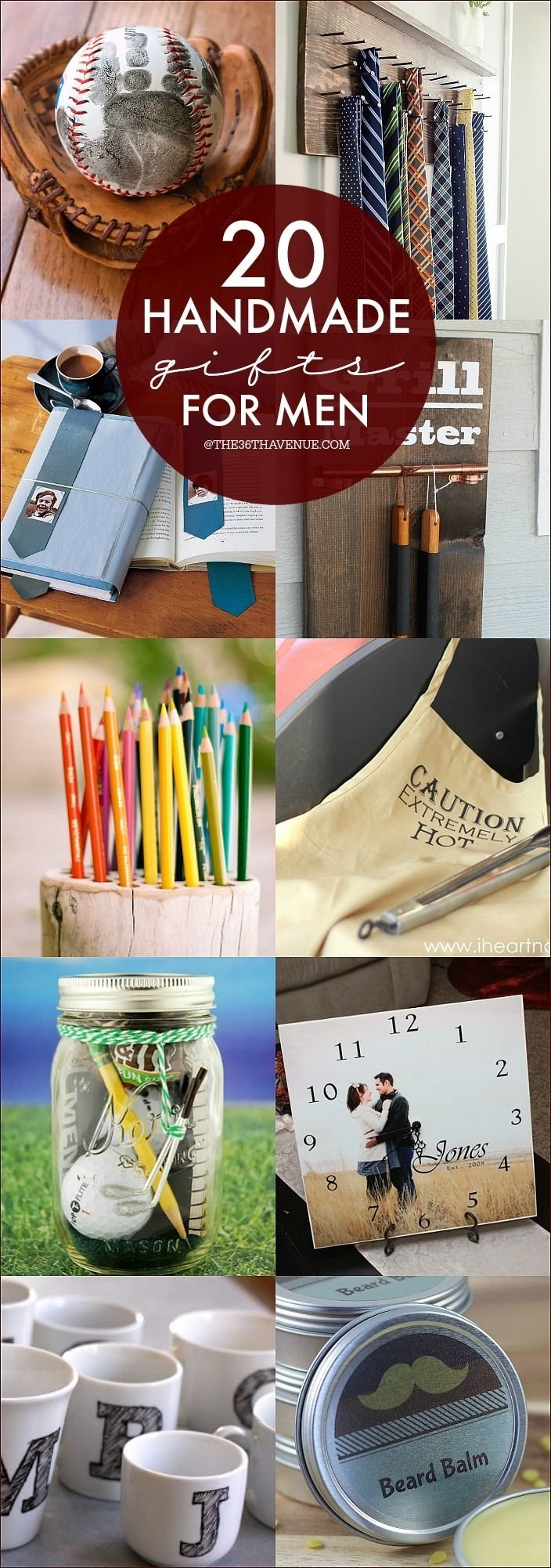 10 Stylish Homemade Gift Ideas For Him handmade gift tutorials for men tutorials gift and christmas gifts