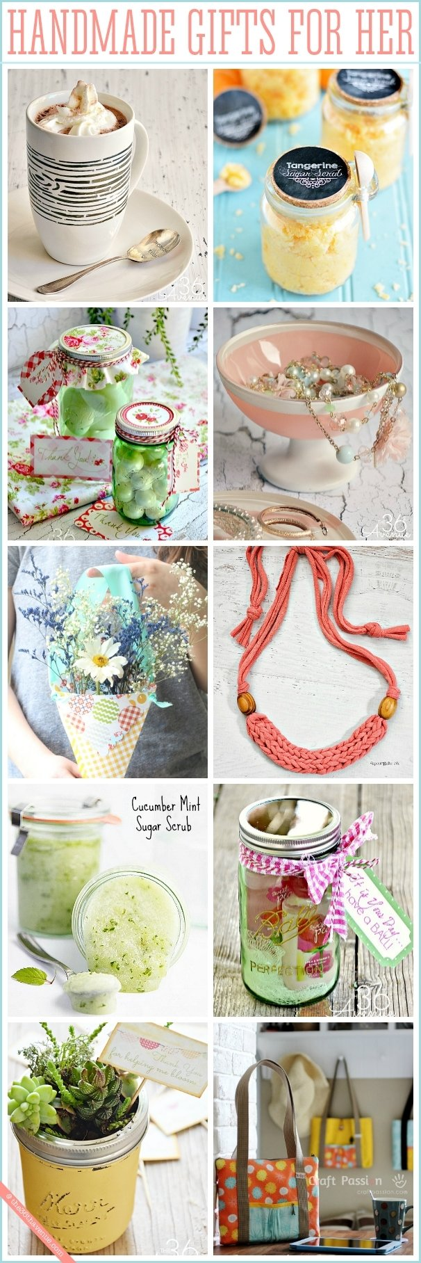 10 Pretty Handmade Gift Ideas For Women handmade gifts for women the 36th avenue 2020