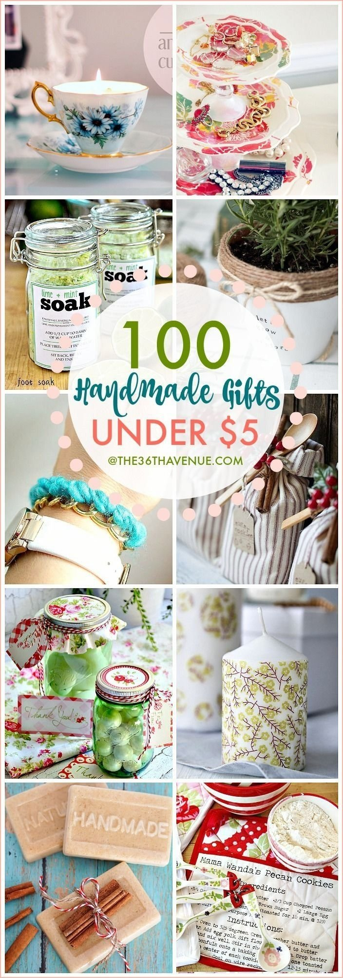 10 Pretty Handmade Gift Ideas For Women handmade gifts that are perfect for christmas gifts birthday 2020