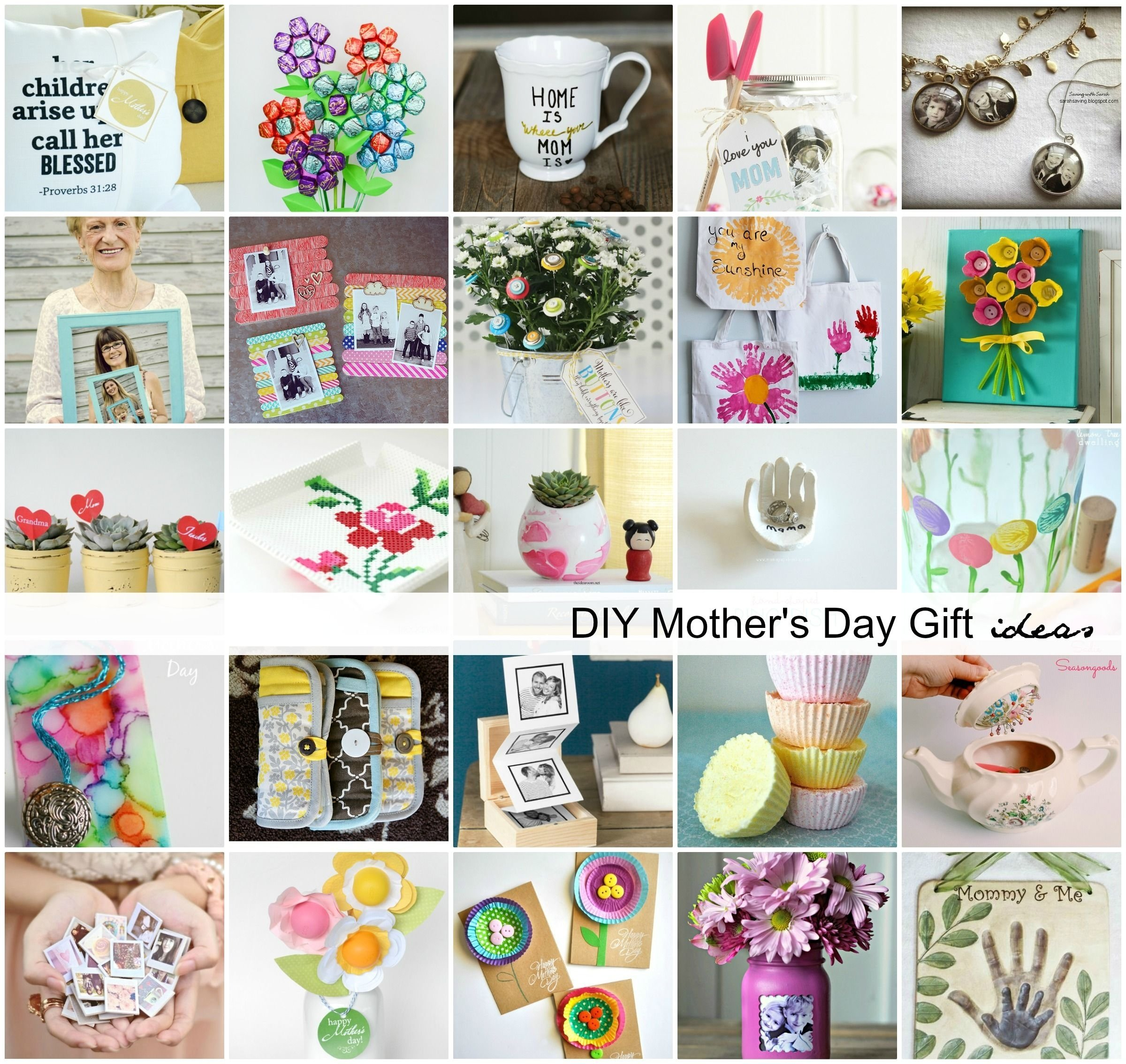handmade mother's day gift ideas | gift, craft and diy craft projects