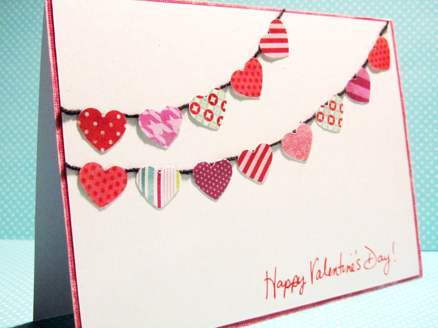 handmade thursday: valentines day card tutorials | card tutorials