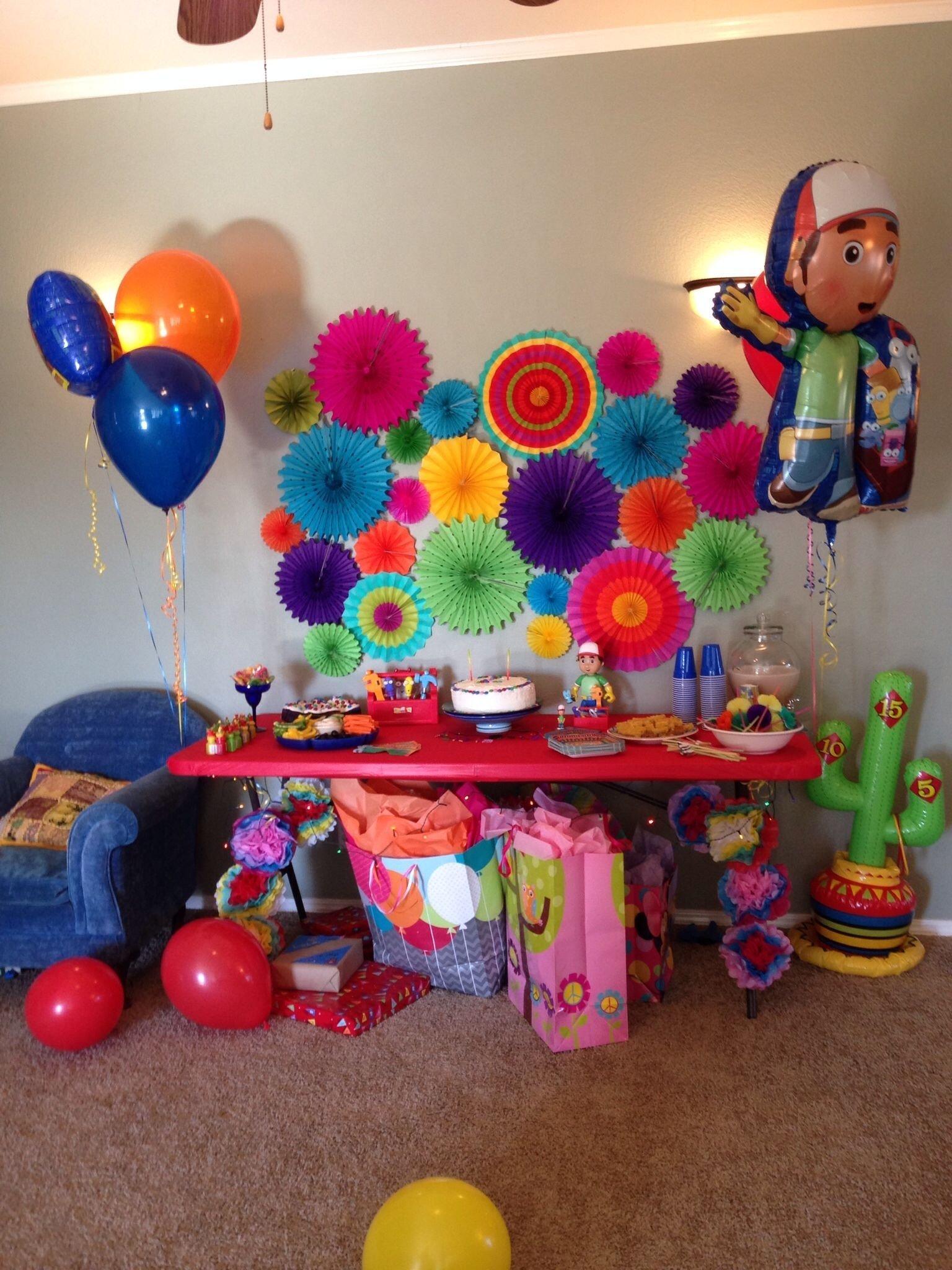 10 Amazing Handy Manny Birthday Party Ideas handy manny fiesta birthday party we like theme parties a lot 2020