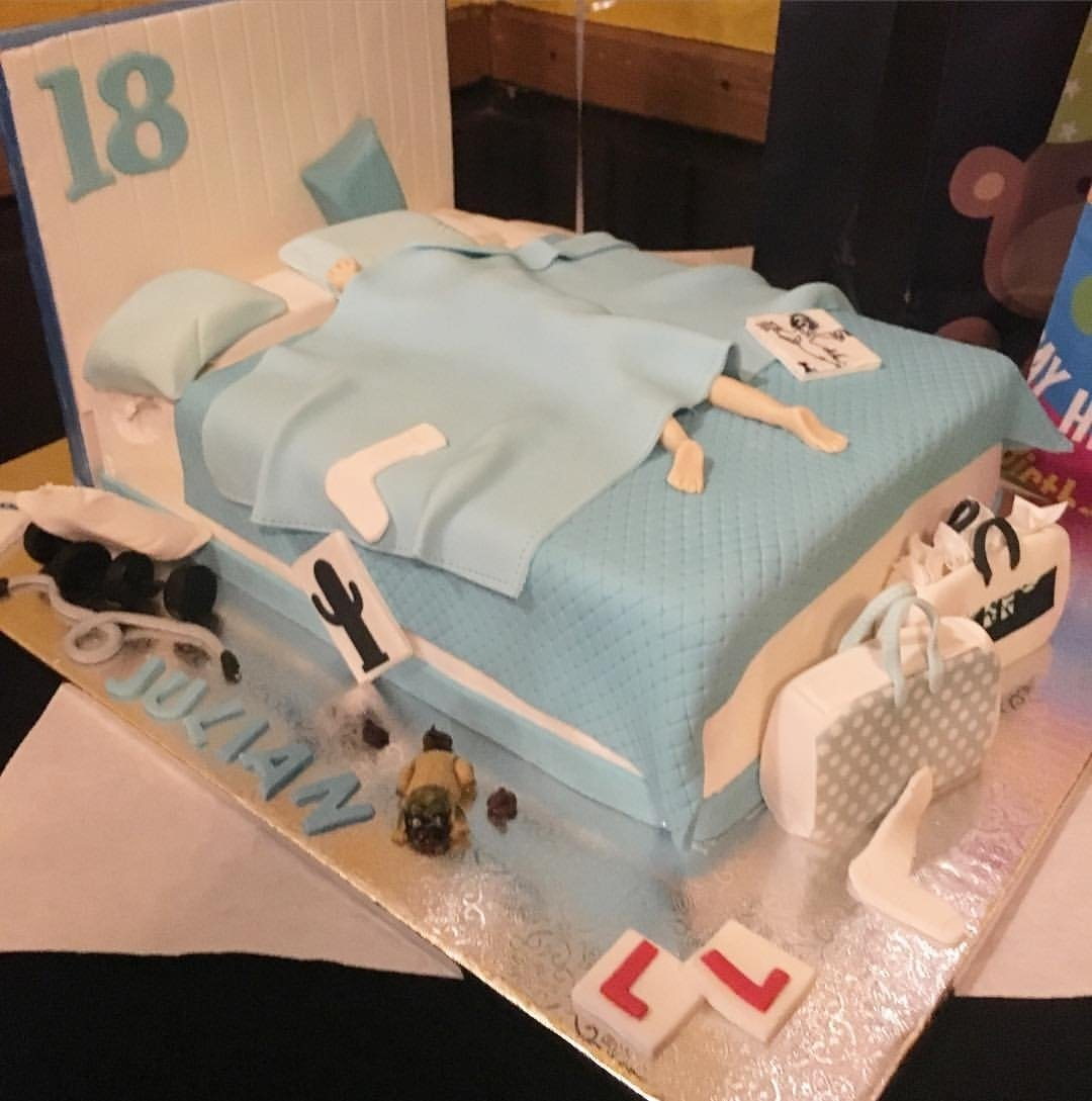 10 Unique 18 Year Old Birthday Ideas happy 18th birthday julian this cake is definitely fit for an 18 1 2020
