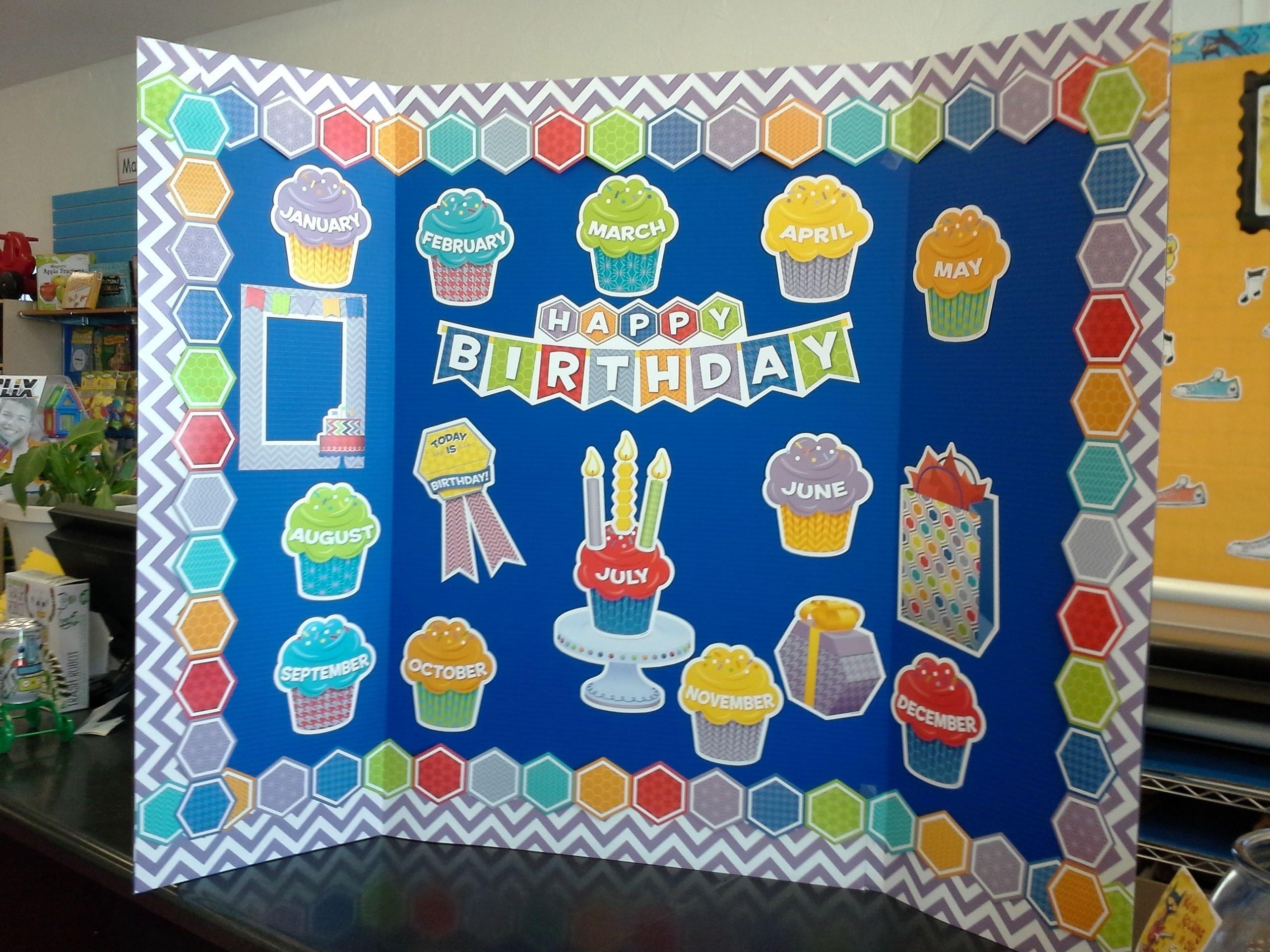 10 Wonderful Happy Birthday Bulletin Board Ideas happy birthday bulletin board idea http teacherparent happy 2020
