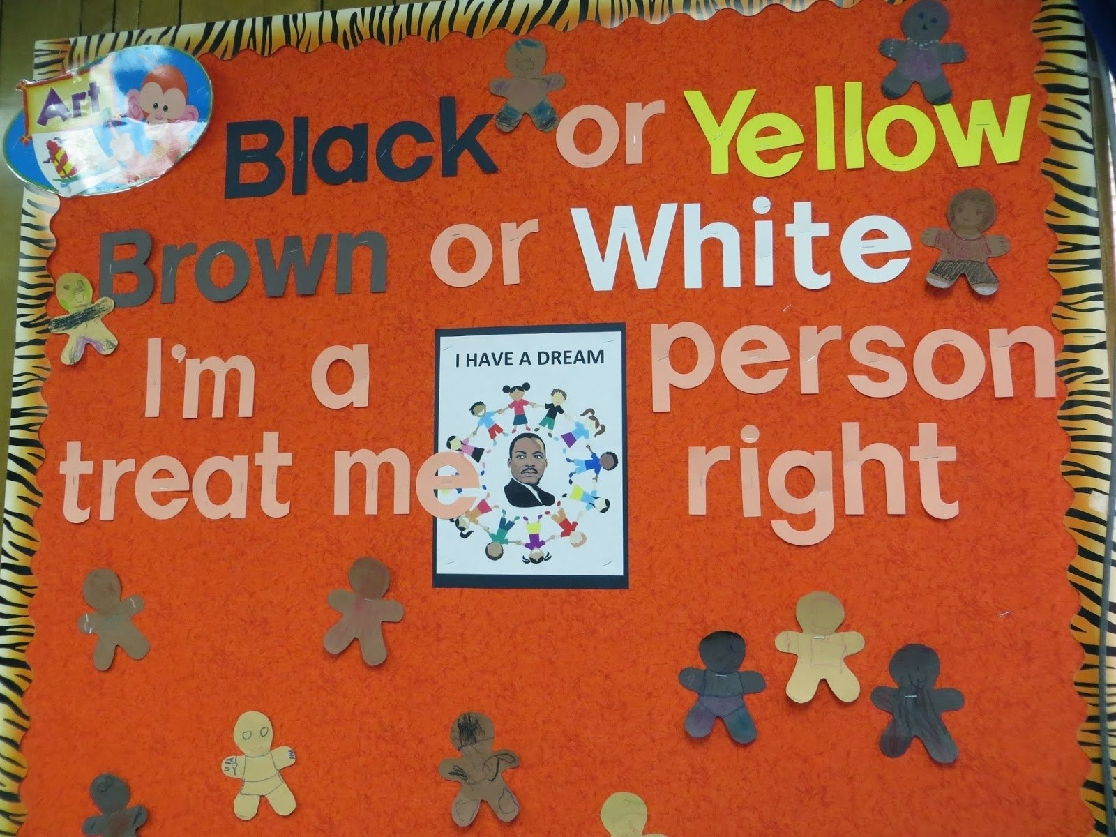 10 Cute Martin Luther King Bulletin Board Ideas happy birthday bulletin board ideas preschool for rookies happy 2 2020