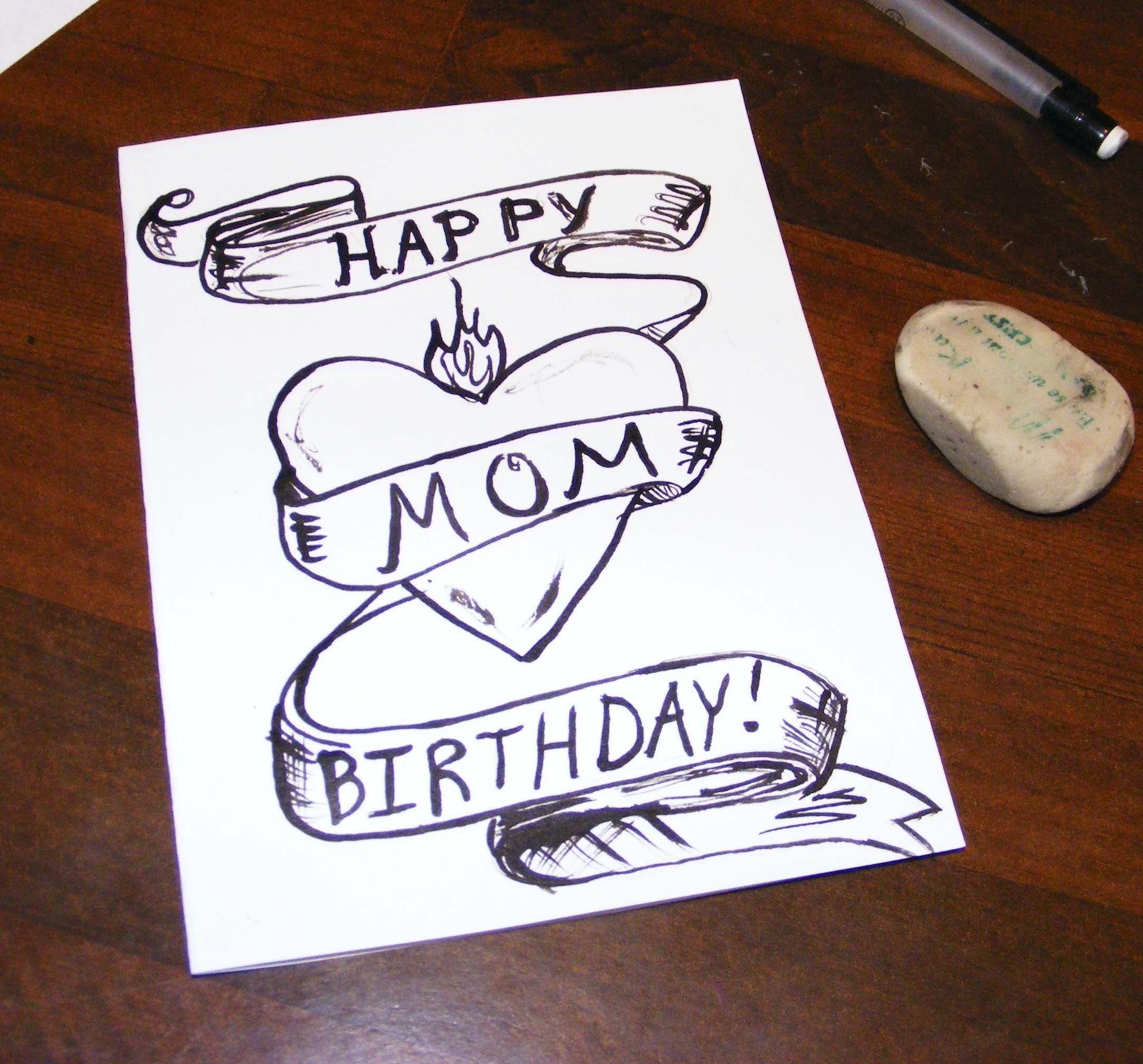 10 Stylish Good Birthday Ideas For Mom Happy Cards Intended Ucwords Card