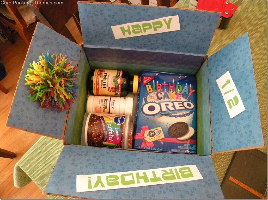 10 Wonderful Ideas For A Care Package happy birthday care package care package themes deployment 1 2021
