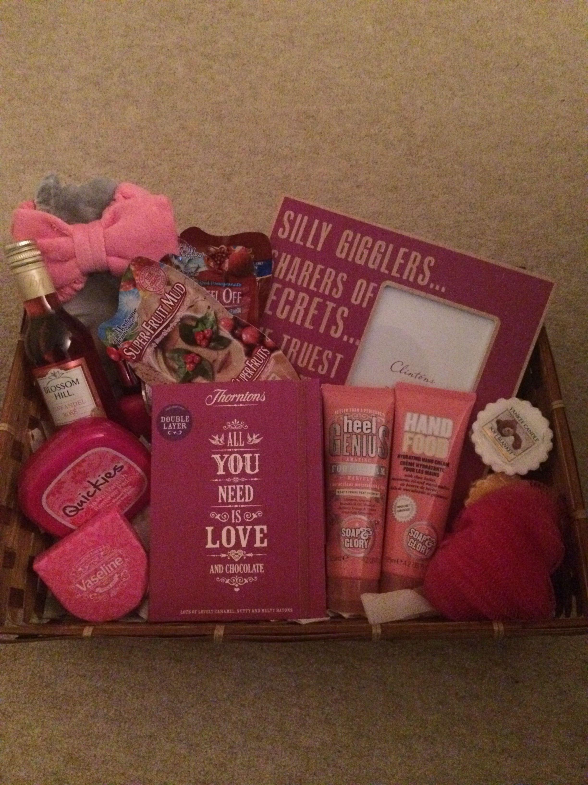 10 Pretty 18Th Birthday Gift Ideas For Girls Happy Night In Hamper A
