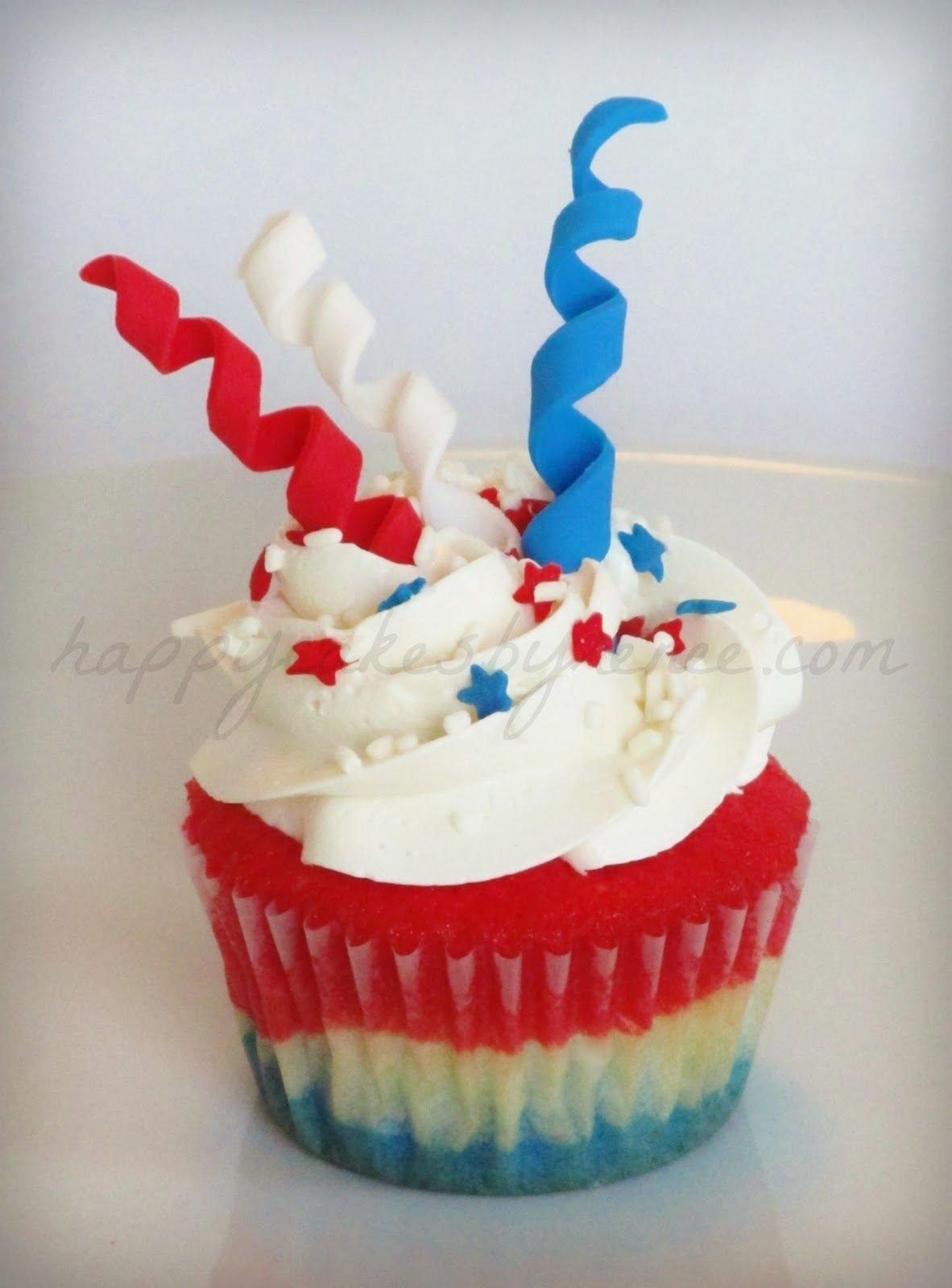 10 Elegant Fourth Of July Cupcake Ideas happy cakes bakes 4th of july firework cupcakes 4th of july 2020