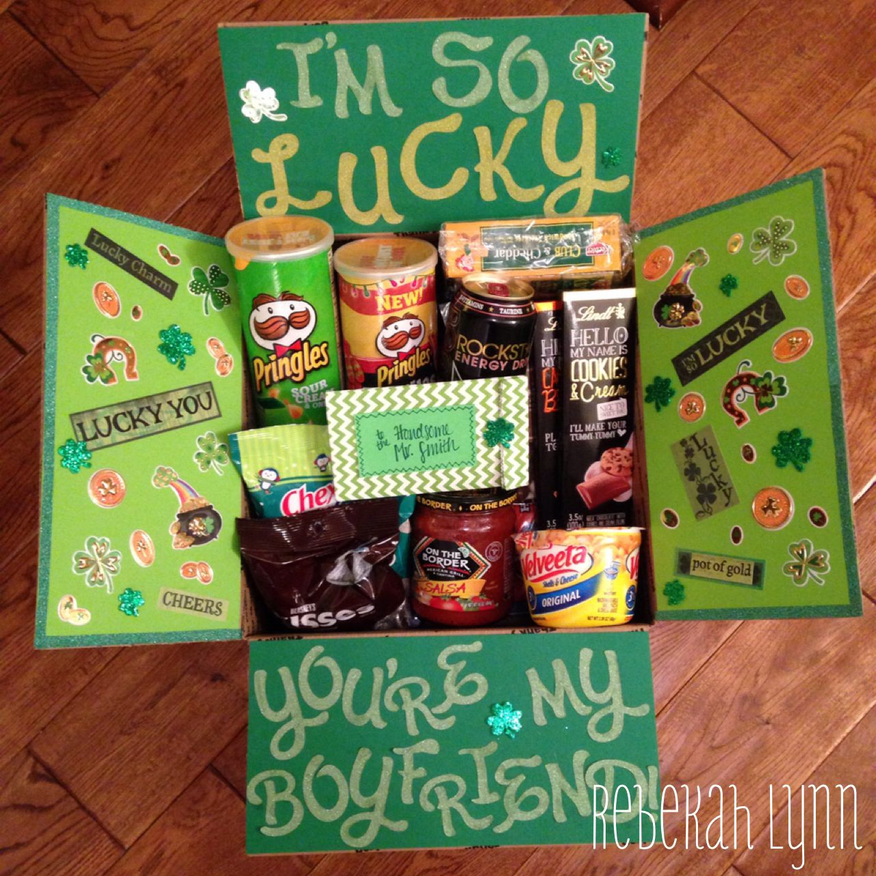 happy st. patricks day deployment care package for my soldier
