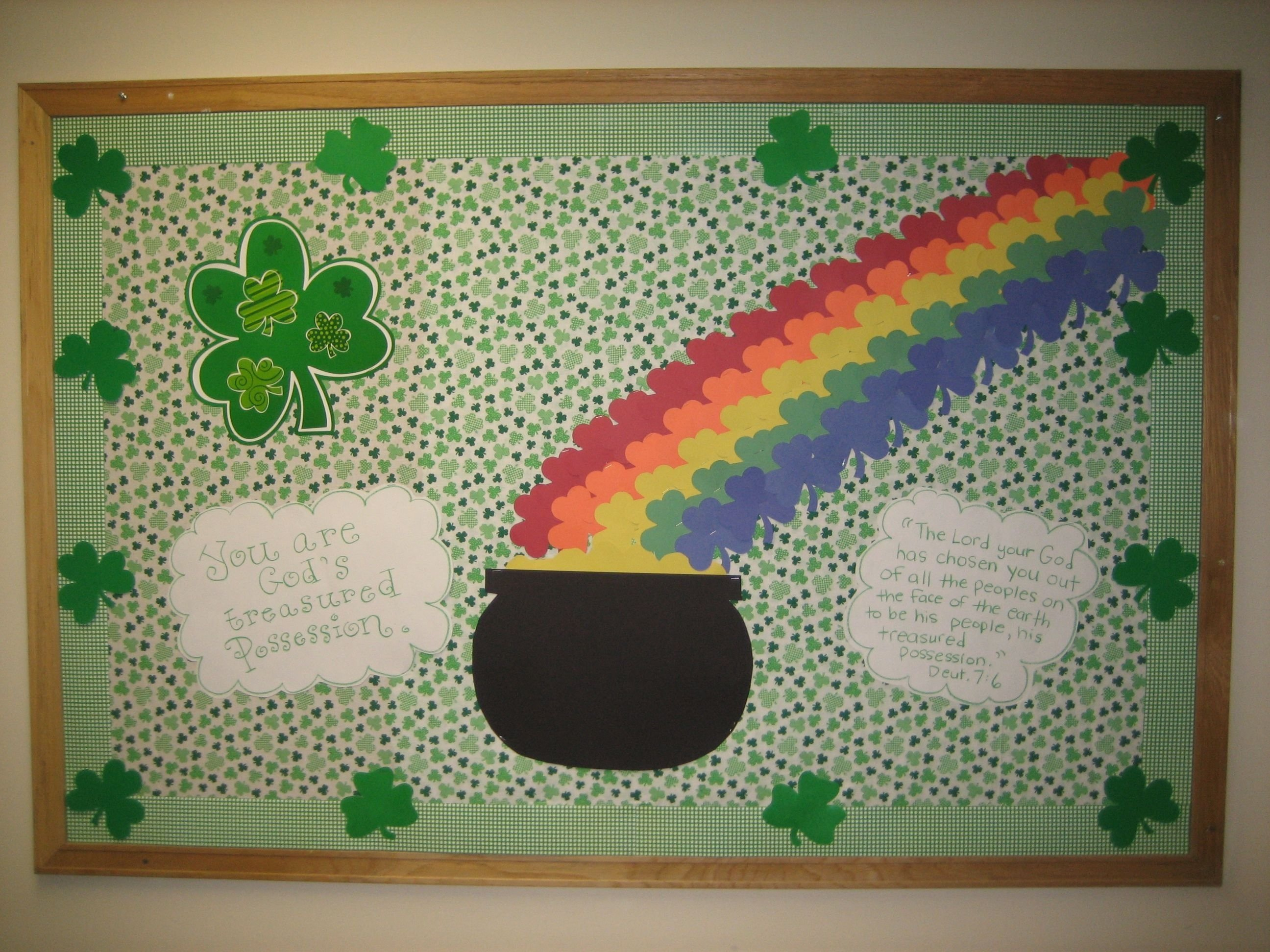 10 Amazing St Patrick Day Bulletin Board Ideas happy st patricks day happy home friends church bulletin boards