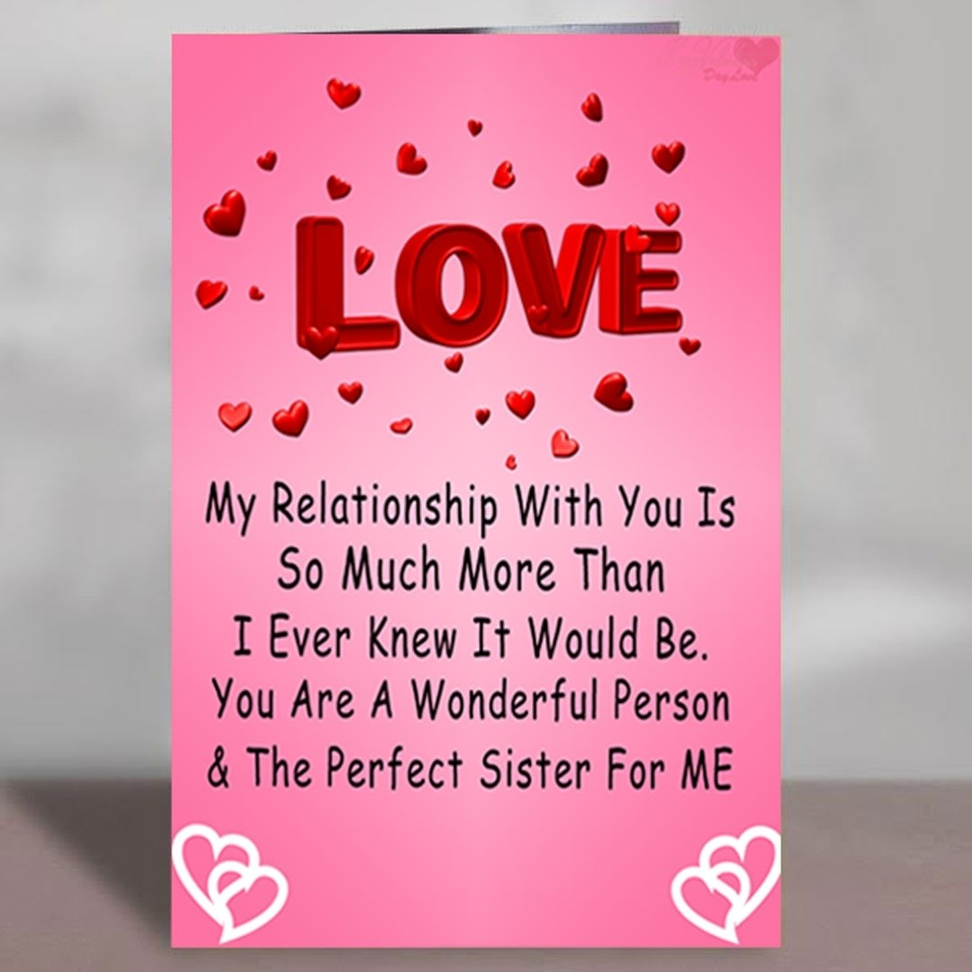 10 Elegant New Relationship Valentines Day Ideas happy valentines day cards for sister in law happy valentines day 2020