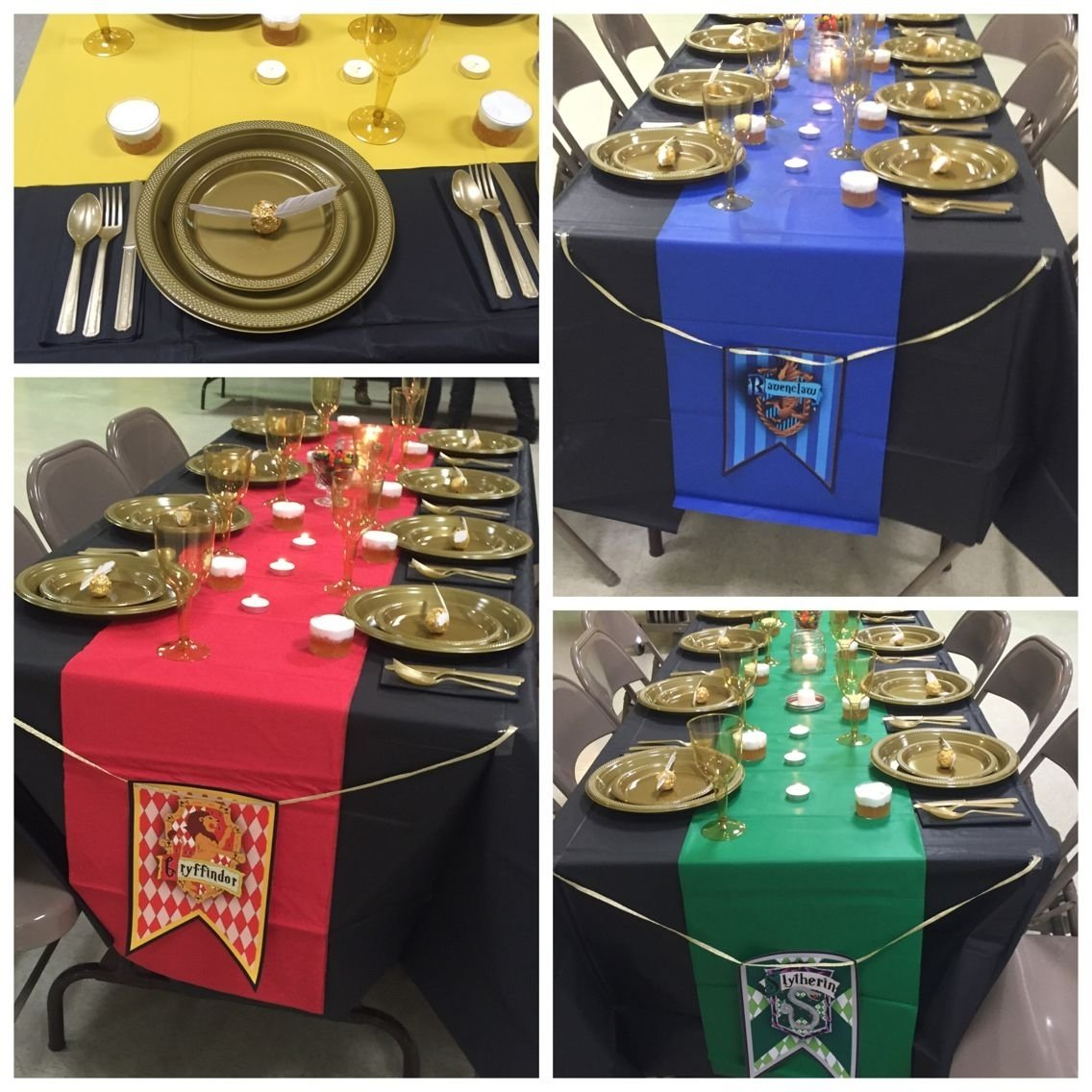 10 Famous Harry Potter Party Decoration Ideas harry potter baby shower table decorations and place setting 2021