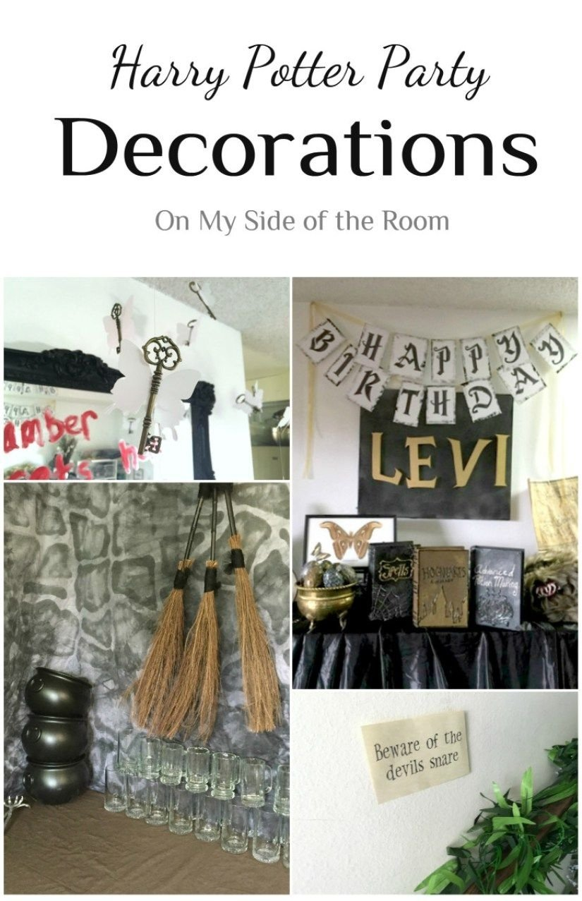 10 Famous Harry Potter Party Decoration Ideas harry potter party decorations ideas harry potter decoration and 2021