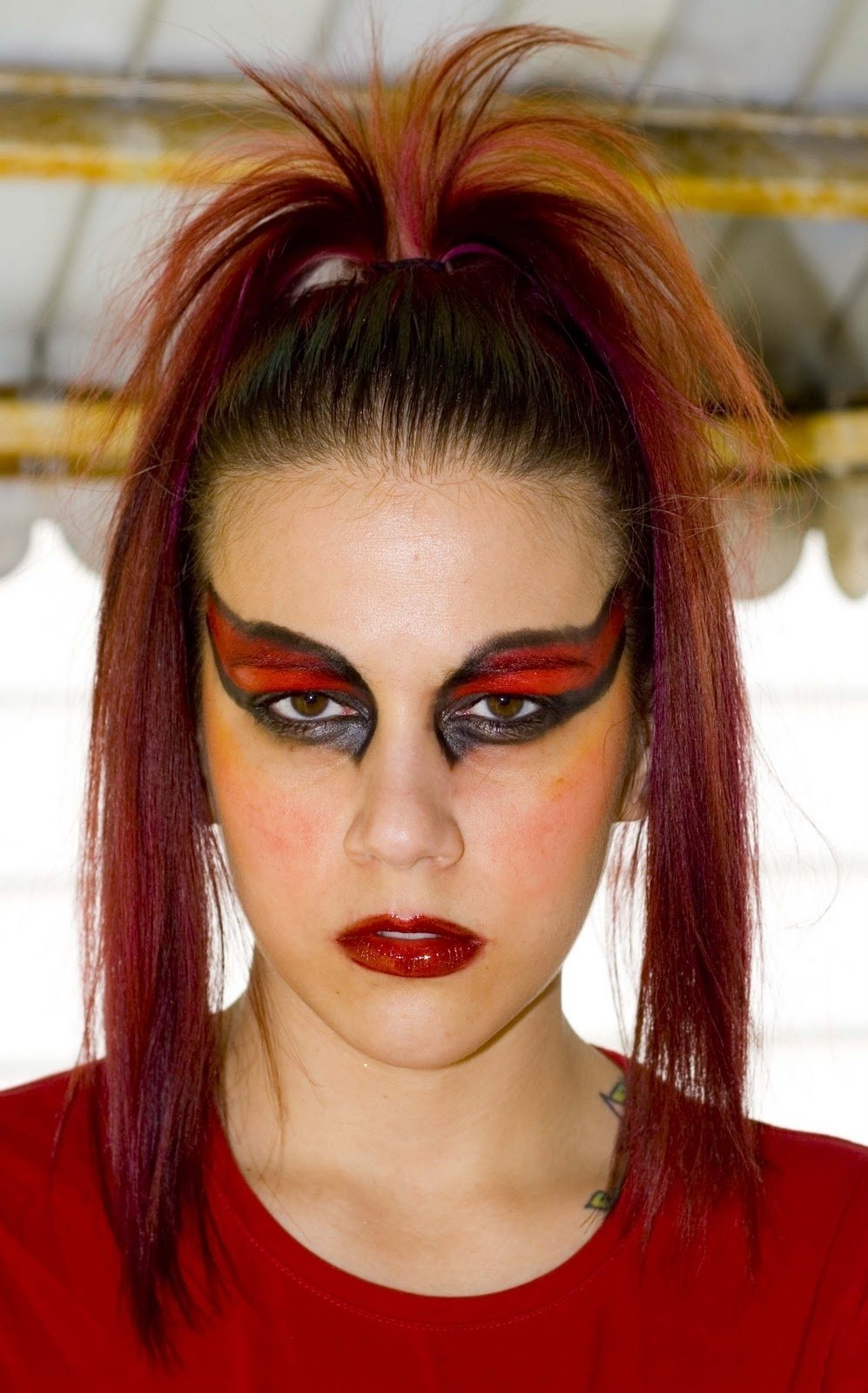 10 Great Devil Makeup Ideas For Women haute chic day 24 of the great makeup challenge