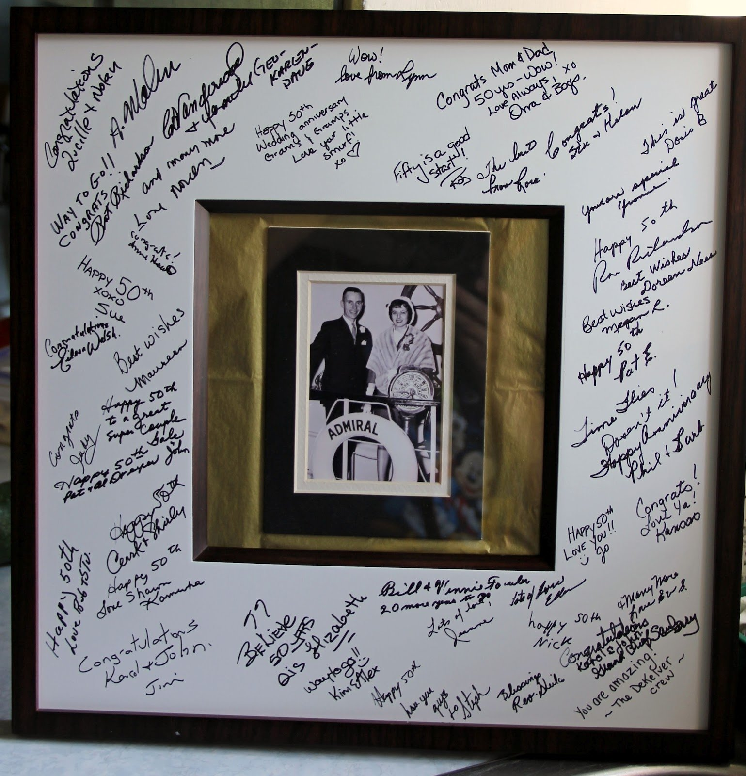 10 Famous 40Th Anniversary Gift Ideas For Parents have each guest write a short note to g g and have their first 5 2020
