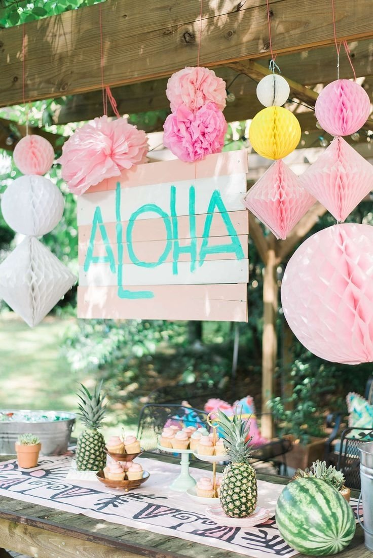 10 Attractive Ideas For A Luau Party hawaii themed birthday party 17 best ideas about kids luau parties 2020