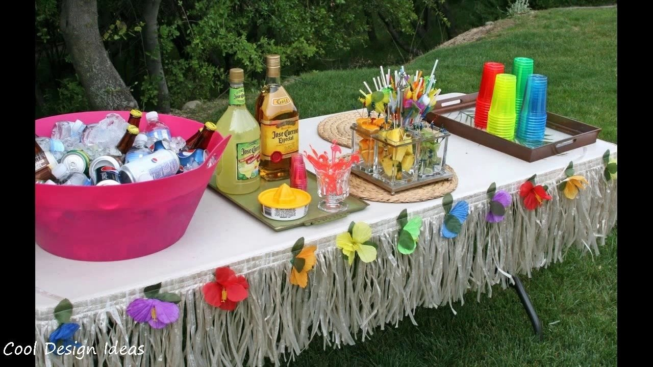 10 Amazing Luau Party Ideas For Adults hawaiian luau party ideas youtube 2020