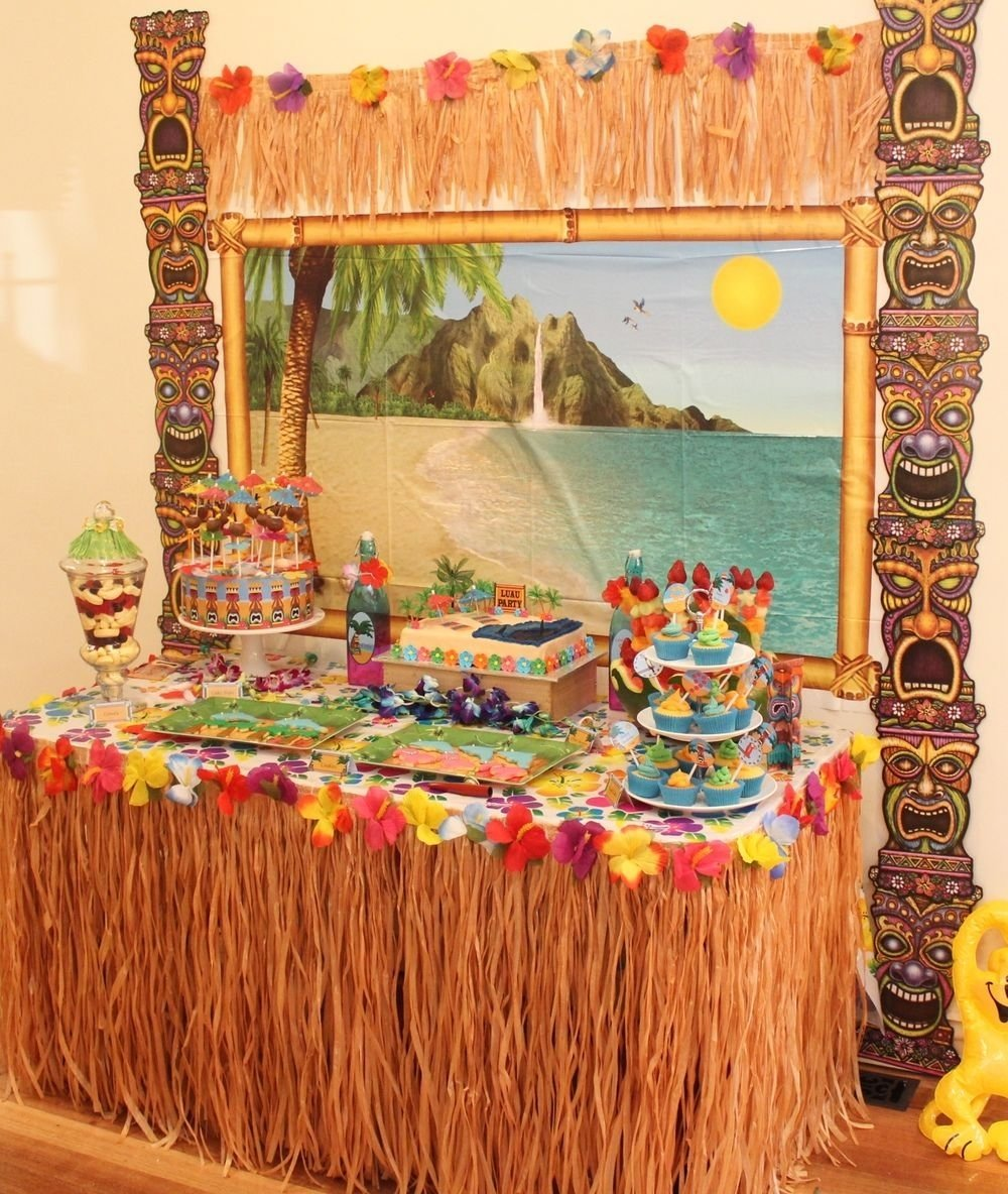 10 Amazing Luau Party Ideas For Adults hawaiian luau party with desert table and games hawaiian luau 2020