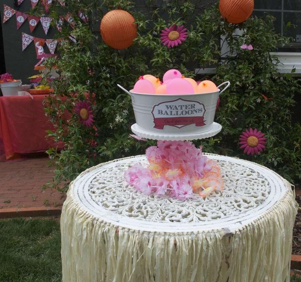 10 Fabulous 9 Year Old Girl Party Ideas hawaiian party birthday party ideas princess moana moana and 2020