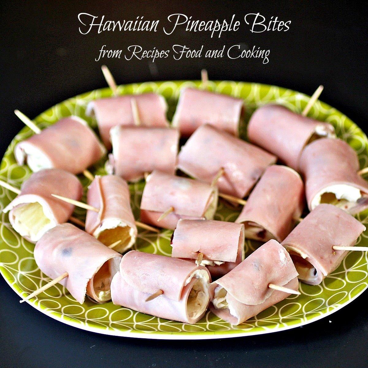 10 Nice Hawaiian Food Ideas For Parties hawaiian pineapple bites recipes food and cooking 2021