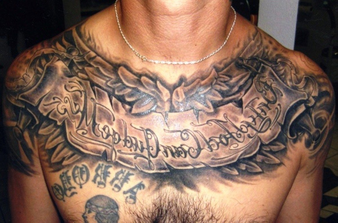 10 Fabulous Chest Piece Tattoo Ideas For Guys hd heart photo chest tattoos for men design idea for men and women 2021