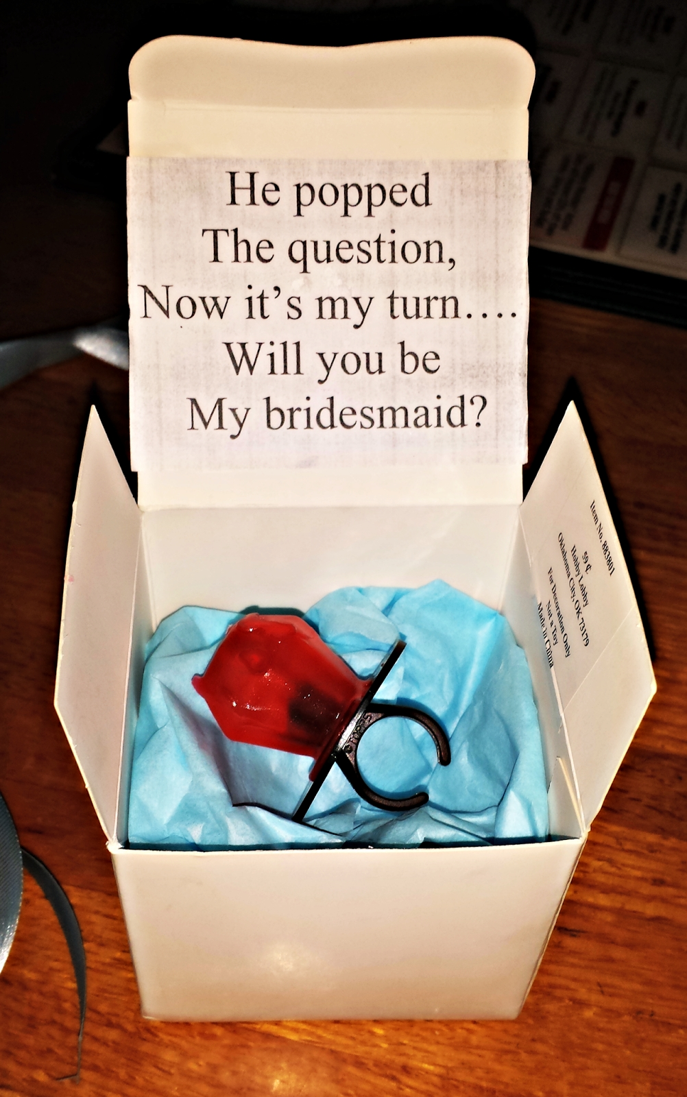 10 Cute How To Ask Bridesmaids Ideas he popped the questionnow its my turn will you be my bridesmaid 3 2020