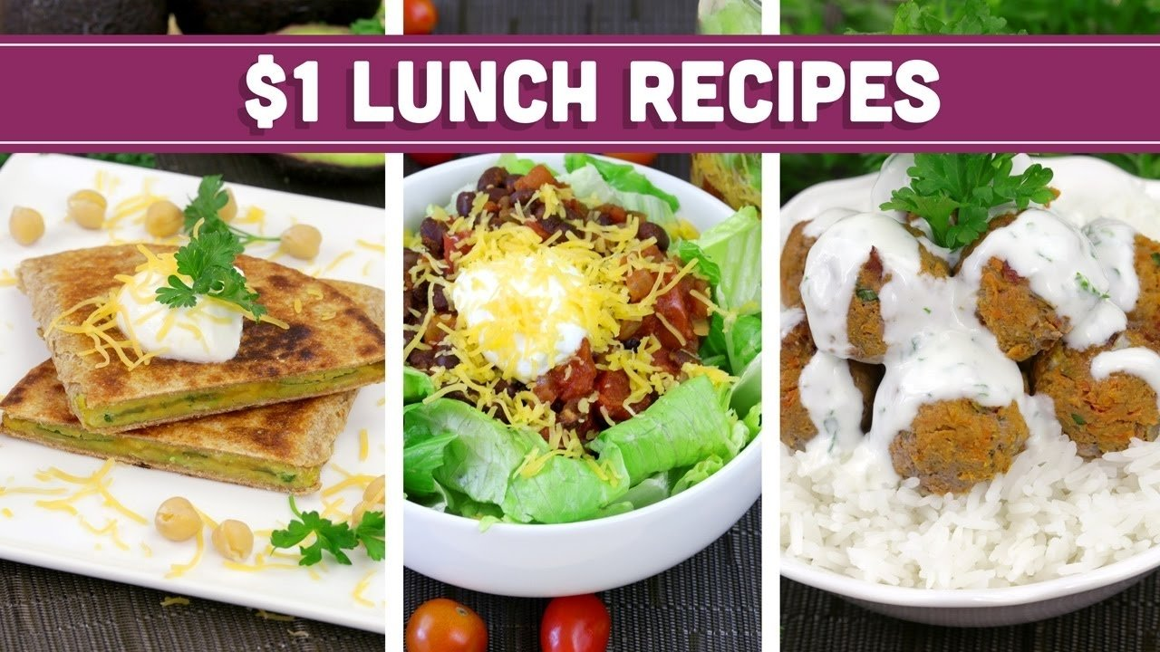 10 Amazing Healthy Meal Ideas On A Budget healthy 1 lunch recipes easy budget meals mind over munch 1 2020