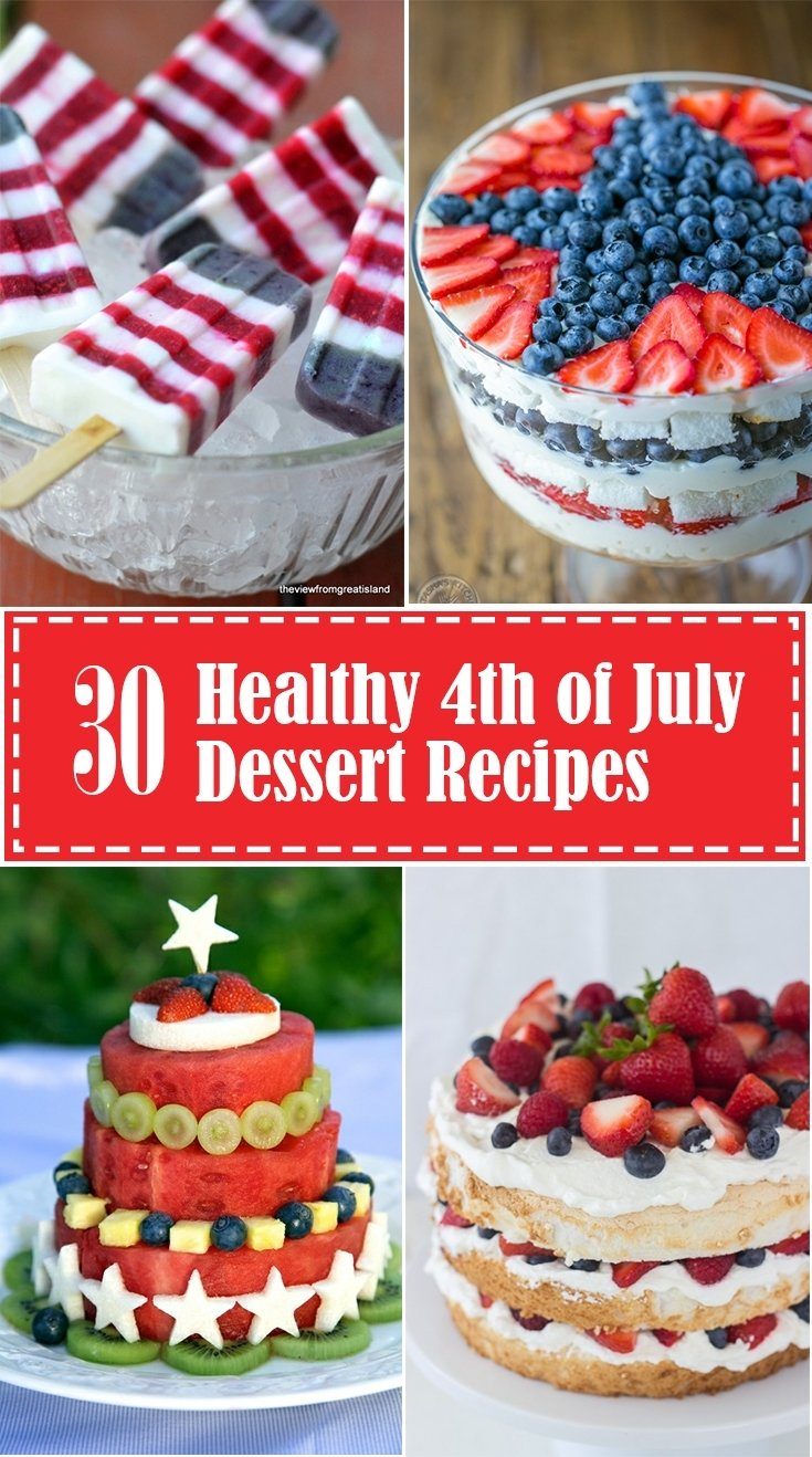 10 Stunning Fourth Of July Dessert Ideas healthy 4th of july desserts eating richly 2020