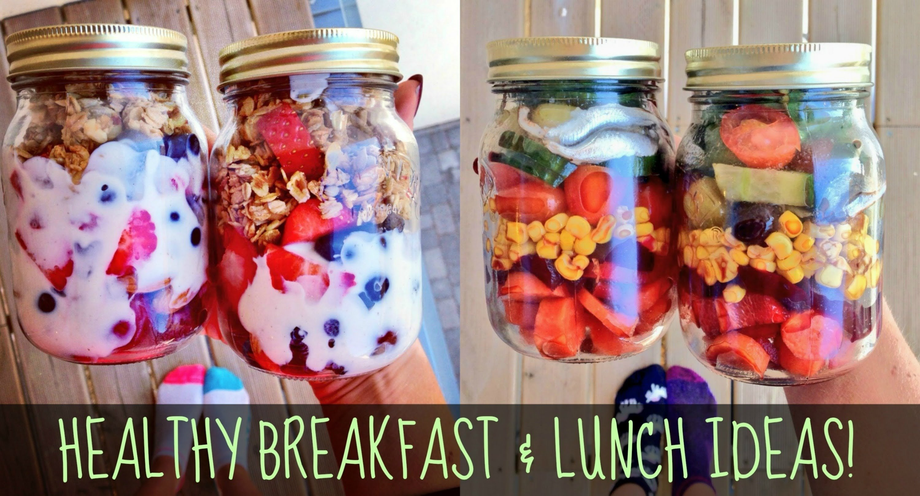 10 Attractive Healthy Breakfast And Lunch Ideas healthy breakfast and lunch ideas for school work youtube 1 2020