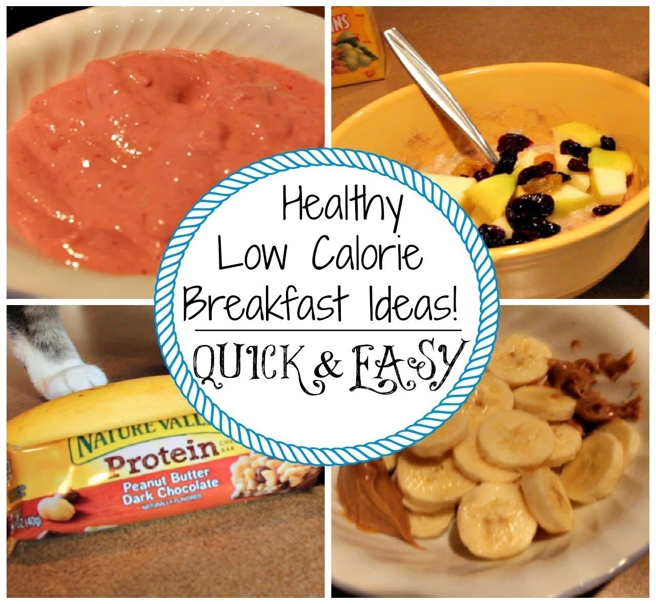 healthy breakfast ideas | low calorie - youtube