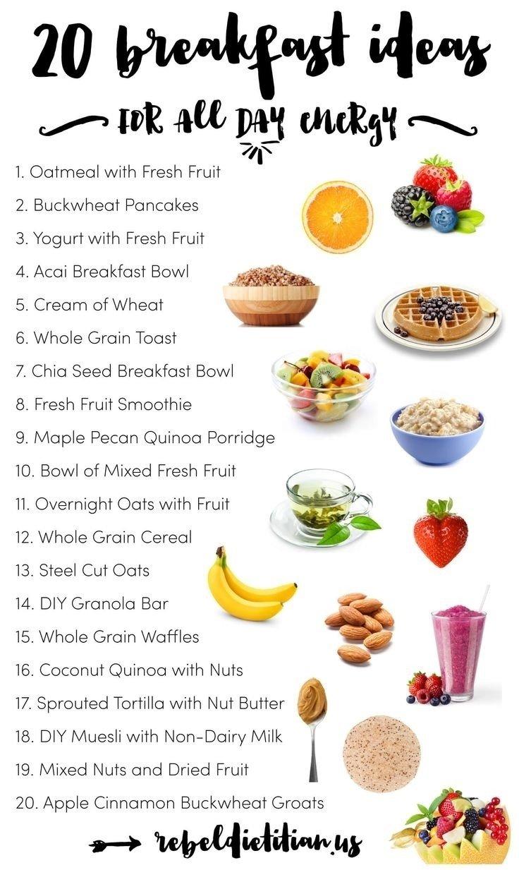 10 Fantastic Healthy Menu Ideas For The Week healthy breakfast menu ideas world of printable and chart 2020