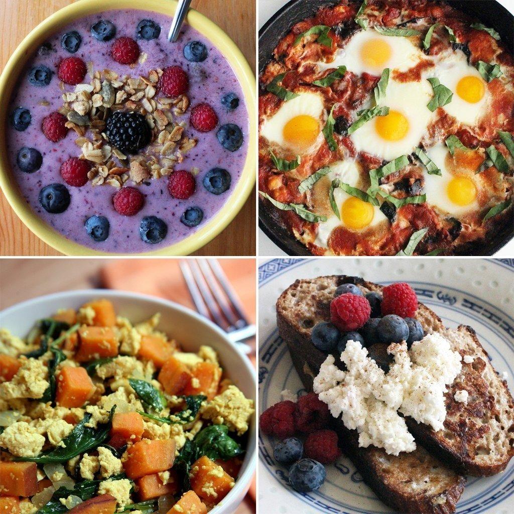 10 Cute Easy Breakfast Ideas For Work healthy breakfast recipe ideas popsugar fitness 6 2020