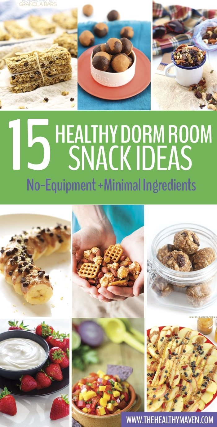 10 Lovable Meal Ideas For College Students healthy dorm room snack ideas the healthy maven 2020