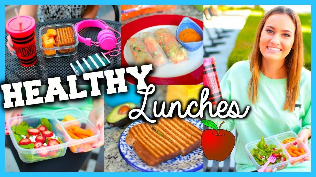 10 Great Quick Easy Healthy Lunch Ideas healthy easy lunch ideas for school youtube 1 2021