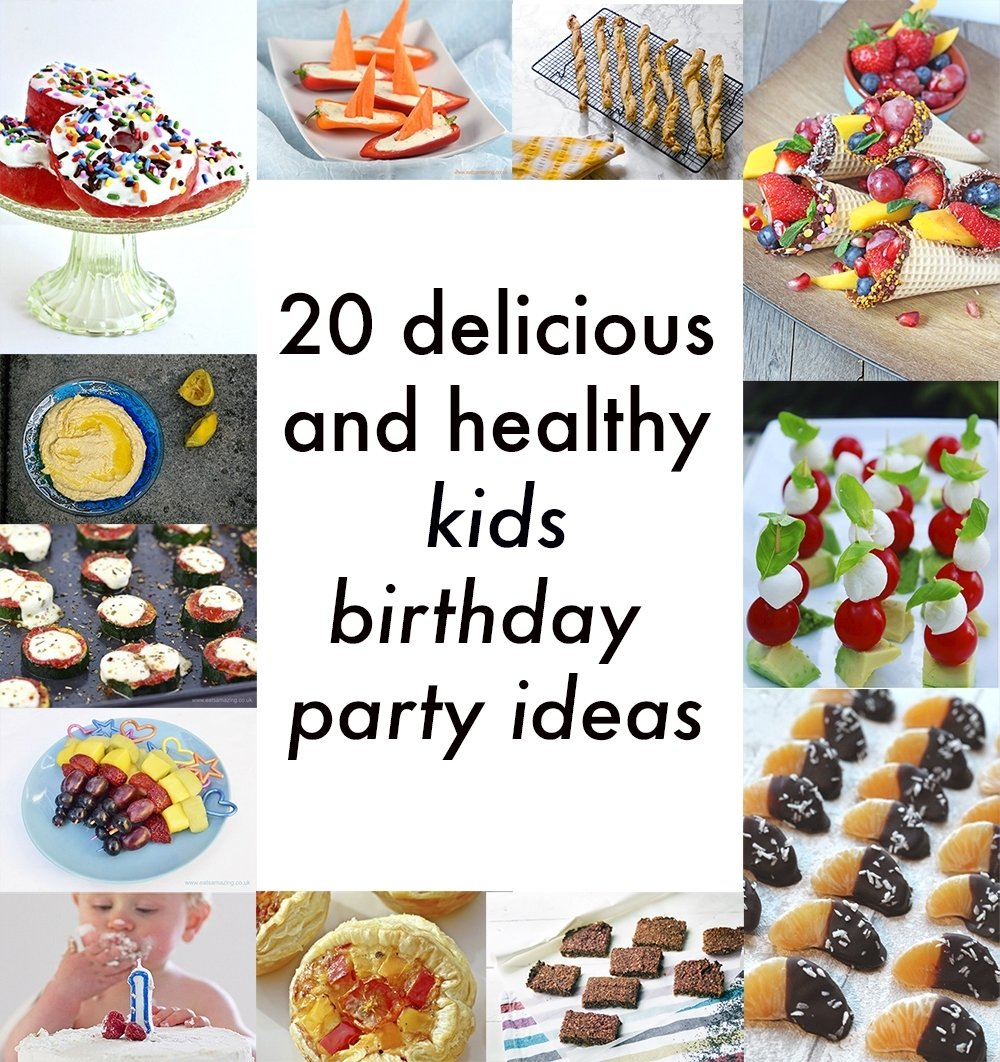 10 Most Popular Kids Birthday Party Menu Ideas healthy kids party food 20 delicious vegetarian recipes for 5 2020