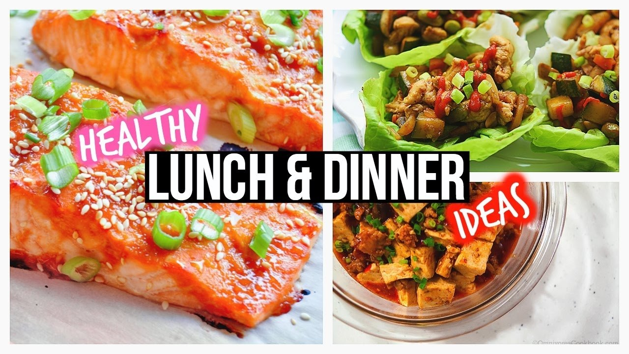 healthy lunch ideas & dinner for school - youtube