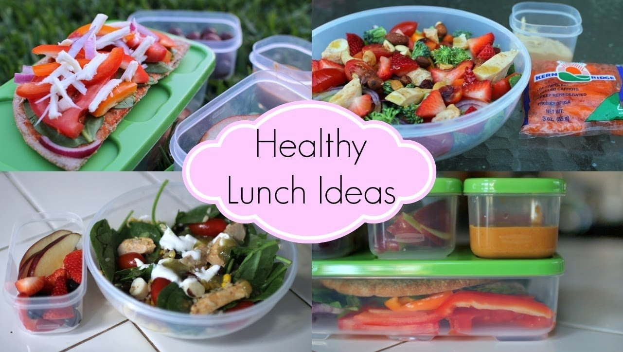 healthy lunch ideas for school ♡ quick and easy - youtube