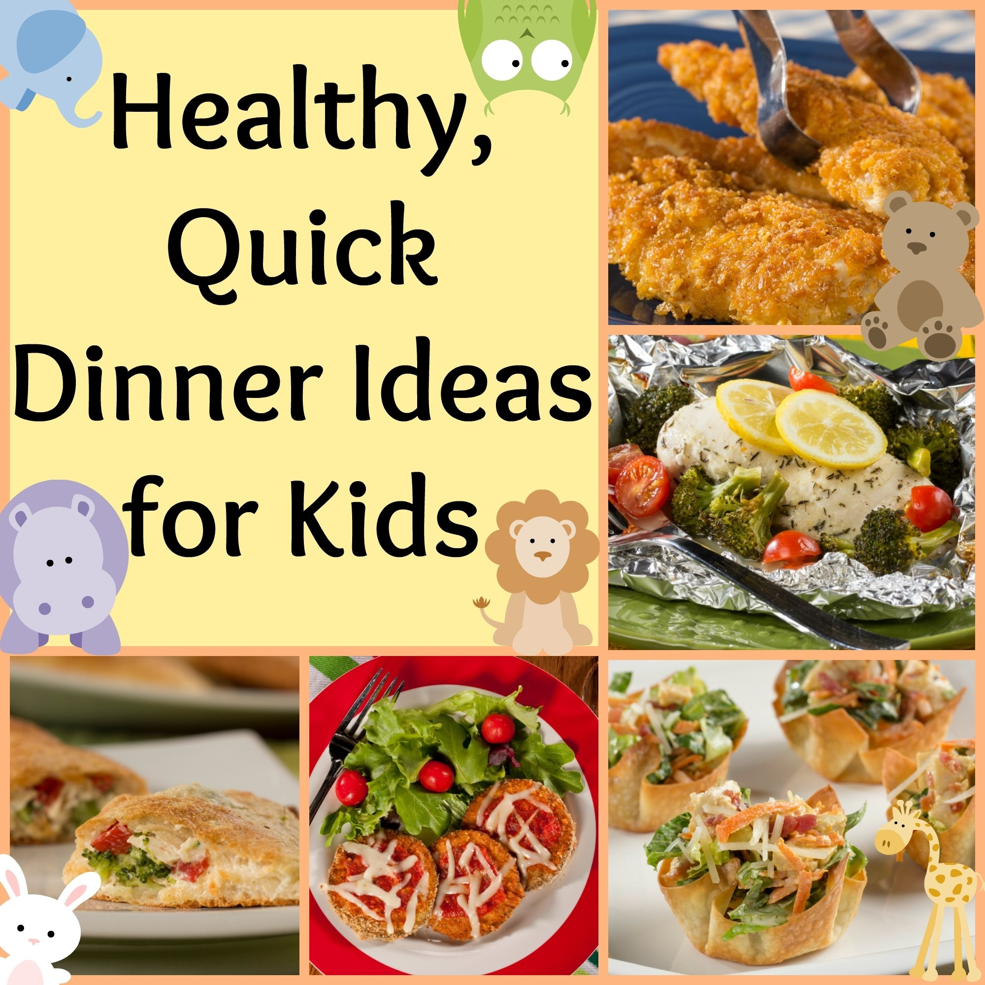 10 Ideal Ideas For A Quick Dinner healthy quick dinner ideas for kids mr foods blog 2020