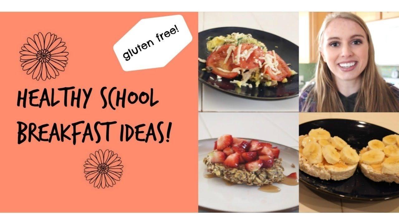 10 Fashionable Easy Gluten Free Breakfast Ideas healthy school breakfast ideas gluten free e299a1 youtube 2