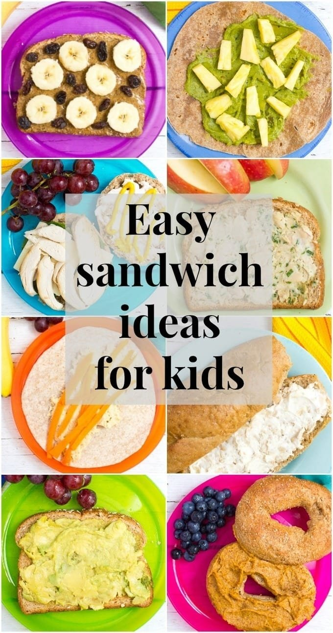 10 Fashionable Healthy And Easy Lunch Ideas healthy school lunch ideas 20 sandwich spreads family food on 1 2020