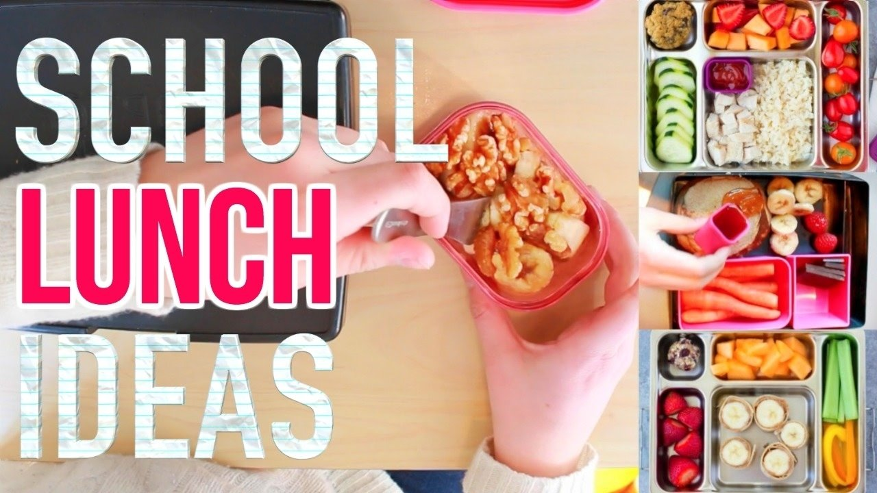 10 Great School Lunch Ideas For High Schoolers healthy school lunch ideas 3 meals 6 snacks more high school