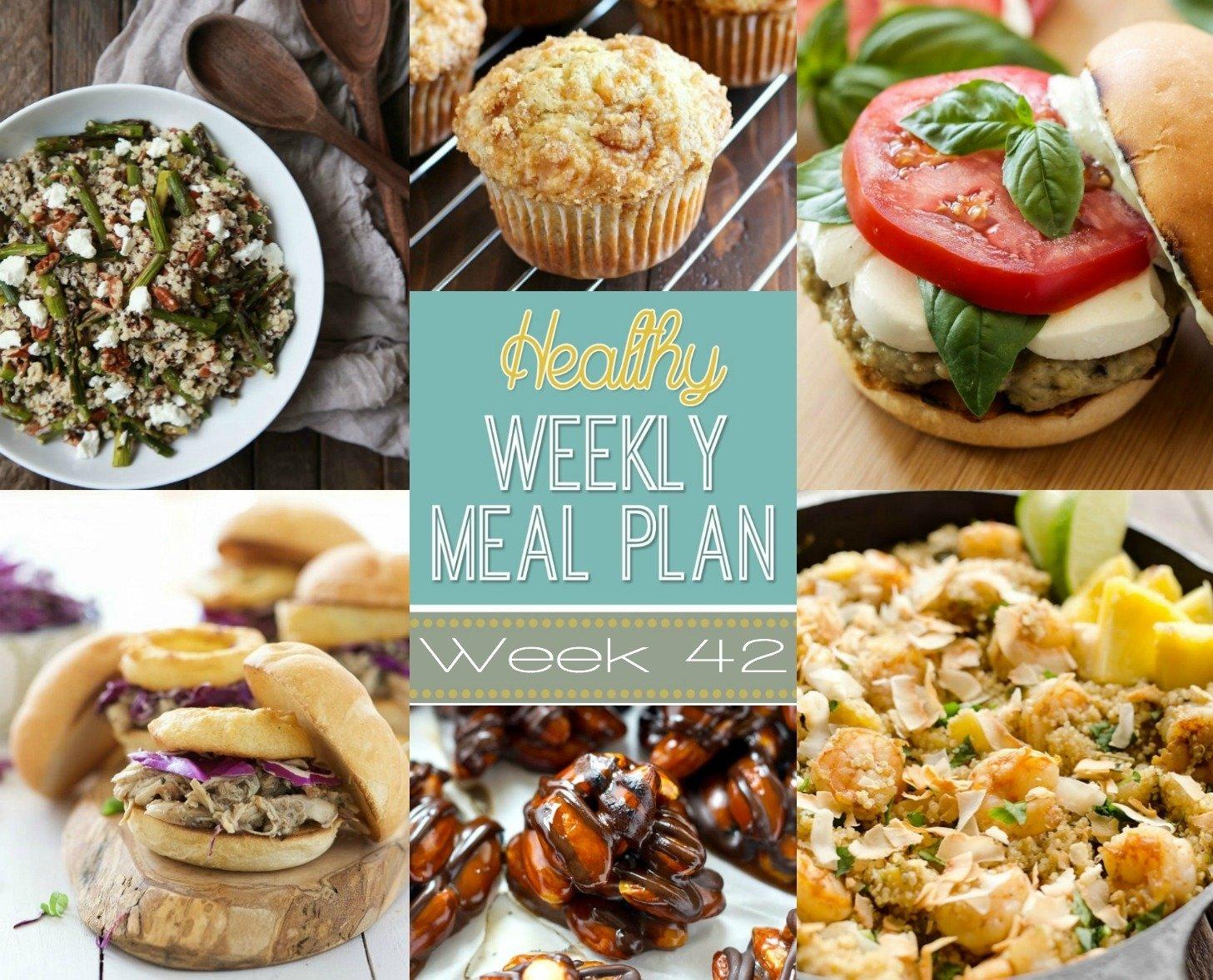 10 Ideal Easy Dinner Ideas For 2 healthy weekly meal plan week 42 2021
